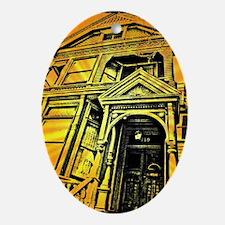 GRATEFUL DEAD HOUSE Oval Ornament