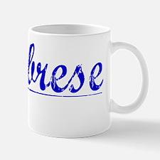 Calabrese, Blue, Aged Mug