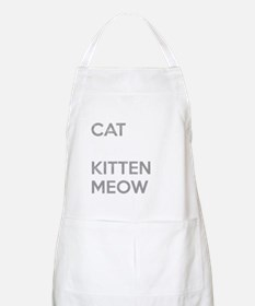 Youve Cat To Be Kitten Meow Apron