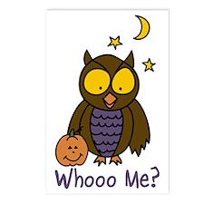 Whooo Me? Postcards (Package of 8)