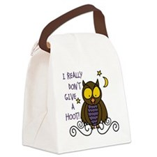 Dont Give A Hoot Canvas Lunch Bag