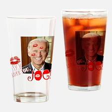 We love Joe Biden! Drinking Glass
