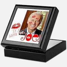 We love Joe Biden! Keepsake Box