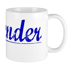 Callender, Blue, Aged Mug
