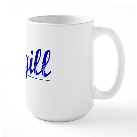 Cargill, Blue, Aged Large Mug