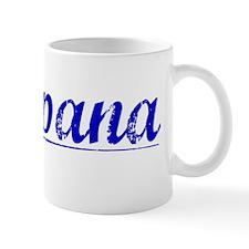Campana, Blue, Aged Mug