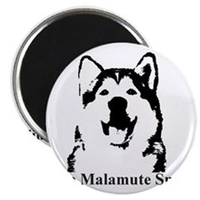 The Malamute Smile Magnet