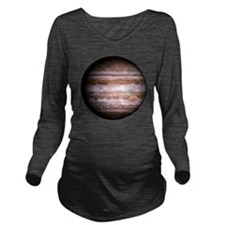 Jupiter! Long Sleeve Maternity T-Shirt