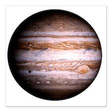 """Jupiter! Square Car Magnet 3"""" x 3"""""""