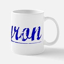 Byron, Blue, Aged Mug
