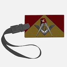 Shriners pyramid Luggage Tag