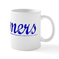 Chalmers, Blue, Aged Mug