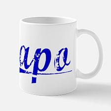 Capo, Blue, Aged Mug