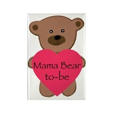 Mama Bear To-Be Rectangle Magnet