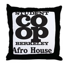 afr Throw Pillow