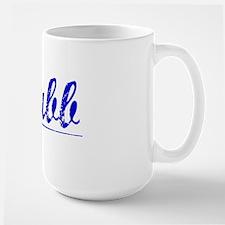 Chubb, Blue, Aged Mug