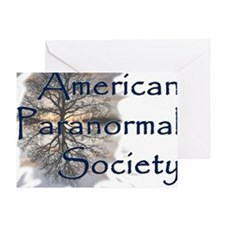 American Paranormal Society Greeting Card