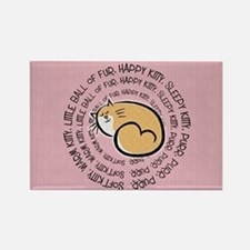 Sing Soft Kitty... Rectangle Magnet