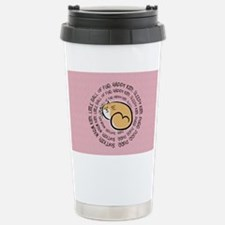 Sing Soft Kitty... Stainless Steel Travel Mug