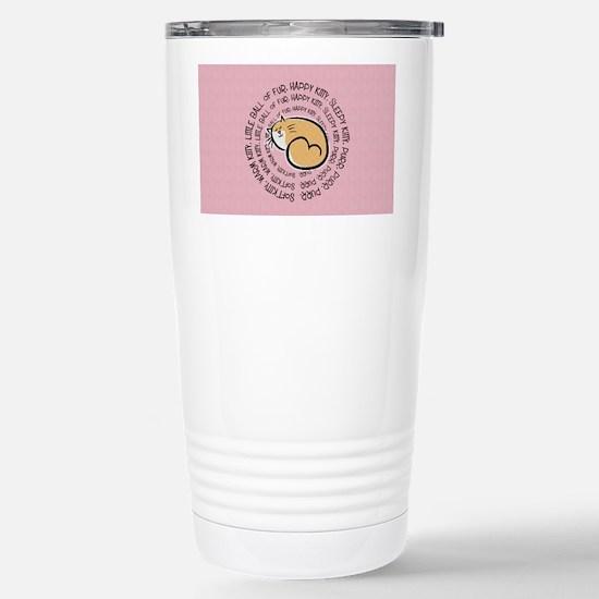 Sing Soft Kitty... Stainless Steel Travel Mug