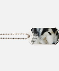 Proud to be a Malamute Dog Tags