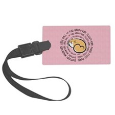 Sing Soft Kitty Luggage Tag
