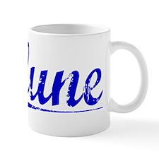 Clune, Blue, Aged Small Mug