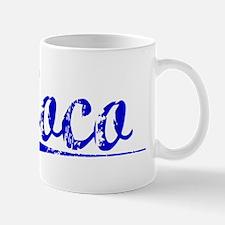 Coco, Blue, Aged Mug