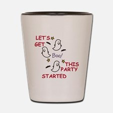 Party Ghosts Shot Glass