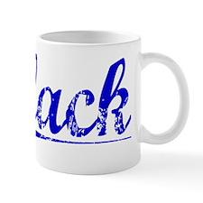 Clack, Blue, Aged Mug