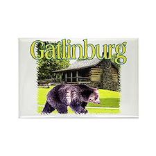 Gatlinburg Bear Rectangle Magnet