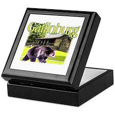 Gatlinburg Bear Keepsake Box