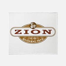 Zion National Park Throw Blanket
