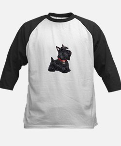 Scottish Terrier #2 Kids Baseball Jersey