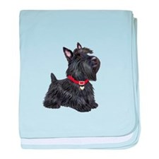 Scottish Terrier #2 baby blanket