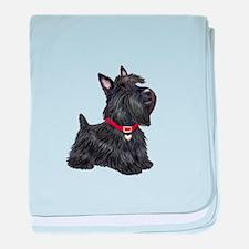 Scottish Terrier #2 baby blanket