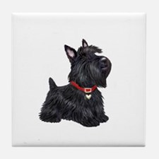 Scottish Terrier #2 Tile Coaster