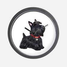 Scottish Terrier #2 Wall Clock