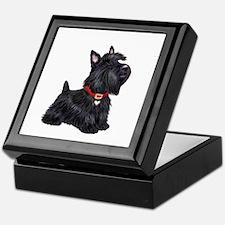 Scottish Terrier #2 Keepsake Box