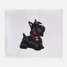 Scottish Terrier #2 Throw Blanket