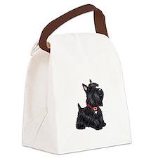 Scottish Terrier #2 Canvas Lunch Bag
