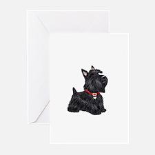 Scottish Terrier #2 Greeting Cards (Pk of 20)