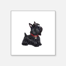 "Scottish Terrier #2 Square Sticker 3"" x 3"""
