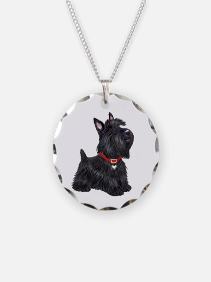 Scottish Terrier #2 Necklace