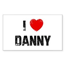 I * Danny Rectangle Decal
