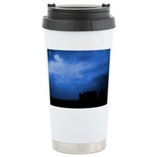 Blue Stonehenge Travel Mug