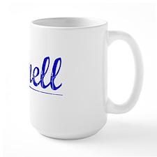 Cornell, Blue, Aged Mug