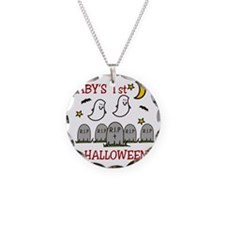 Babys 1st Halloween Necklace