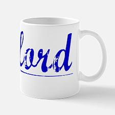 Clifford, Blue, Aged Mug