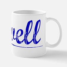 Cowell, Blue, Aged Mug